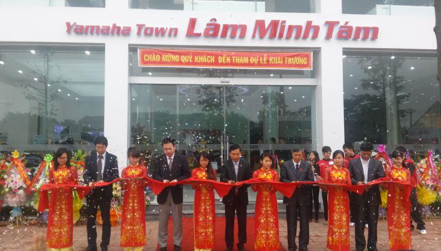 Yamaha liên tiếp khai trương 3 Town mới