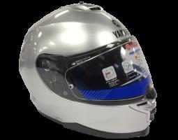 Mũ bảo hiểm cả đầu - Chrome Silver