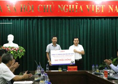 Chương trình hỗ trợ cho người dân vùng lũ tỉnh Sơn La và Yên Bái