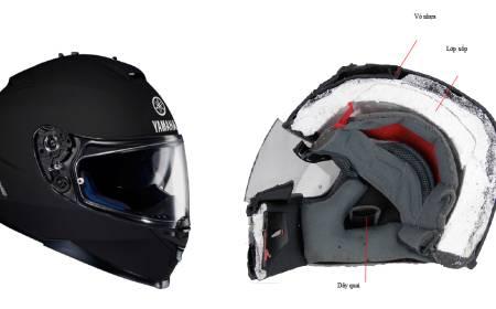 So sánh mũ bảo hiểm tốt và kém chất lượng