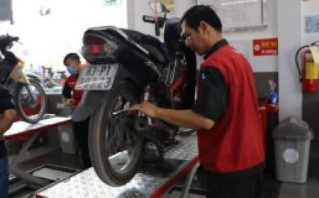 Cách bảo dưỡng xe máy, xe tay ga Yamaha