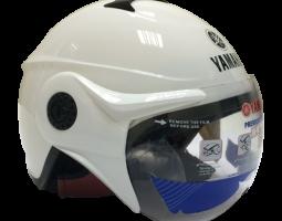 Mũ bảo hiểm nửa đầu kiểu 2 - Pearl White