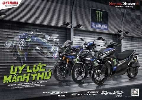 Yamaha Monster Series: YZF-R15, EXCITER 150, NVX 155 VVA