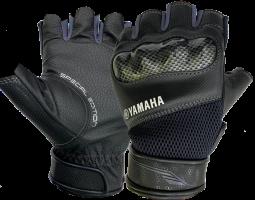 Găng tay nửa ngón thể thao ( đen - xám)