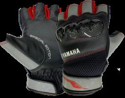 Găng tay nửa ngón thể thao ( đỏ - xám)