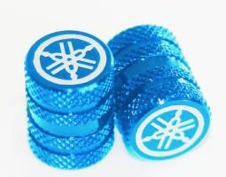 Bộ nắp van lốp xe (xanh)