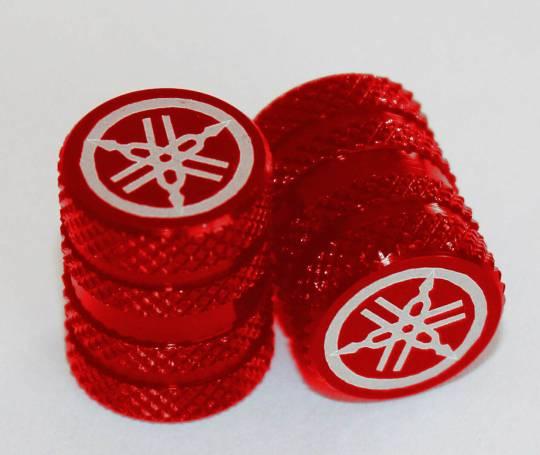 Bộ nắp van lốp xe (đỏ)