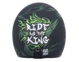 Mũ bảo hiểm Jet Phiên bản Ride As The King