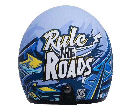 Mũ bảo hiểm Jet Phiên bản Rule The Road