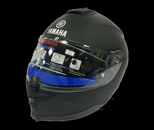 Mũ bảo hiểm cả đầu – Matt Black