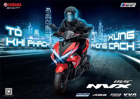 NVX 155 màu mới