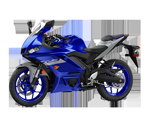 Xe YZF-R3 màu Xanh Bạc