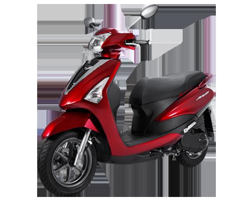 Xe Acruzo Deluxe (phiên bản cao cấp) màu Đỏ