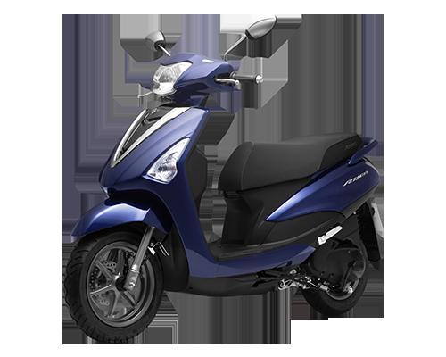 Xe Acruzo Deluxe (phiên bản cao cấp) màu Xanh