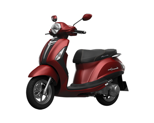 Xe Grande Deluxe (phiên bản cao cấp) màu Đỏ