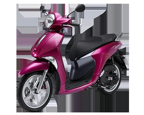 Xe Janus Standard (phiên bản tiêu chuẩn) màu Hồng tím