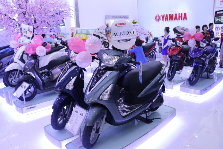 Vui mừng khai trương Yamaha Town Việt Hà Anh - Hà Nội