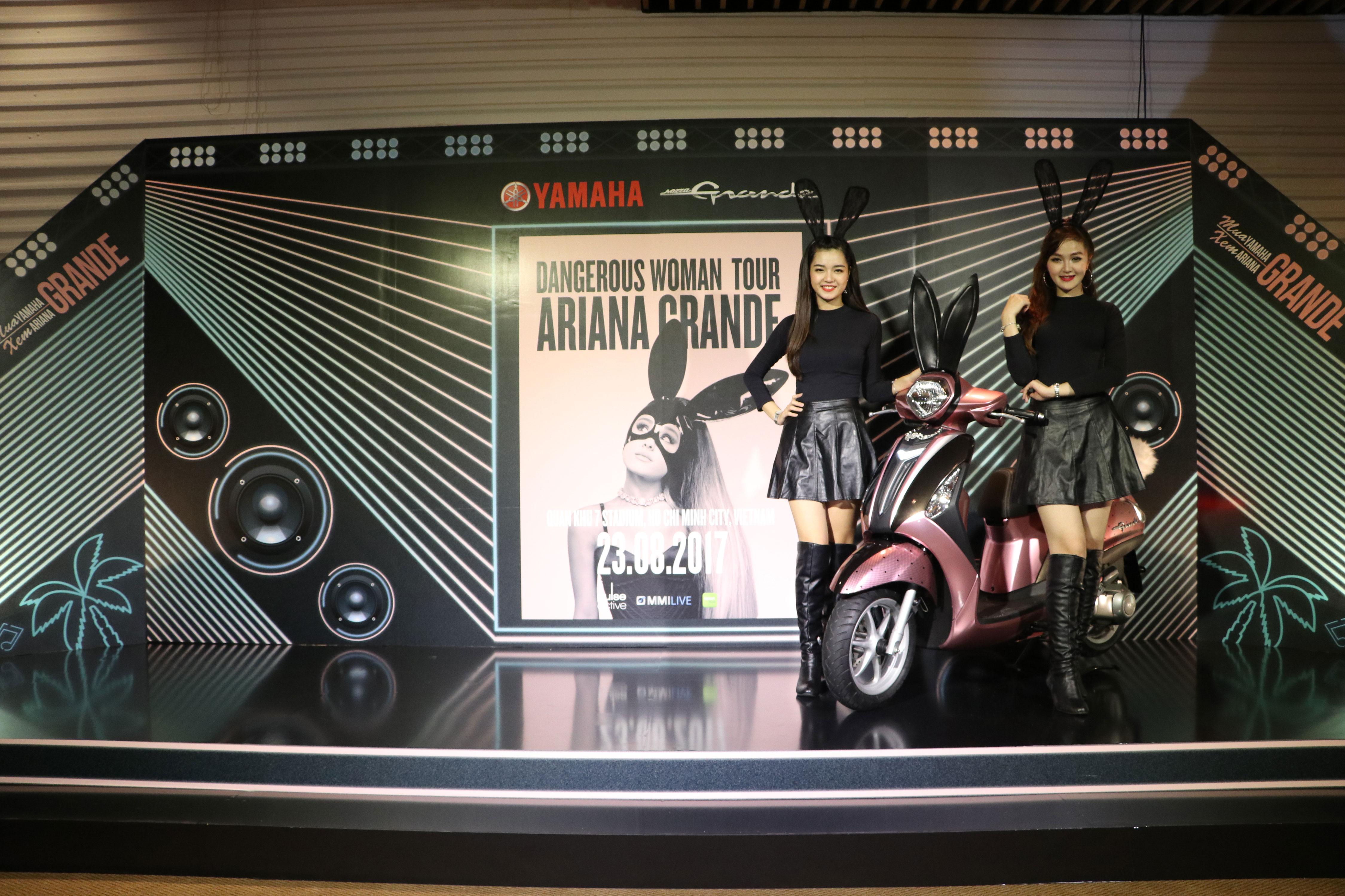 Lung linh đêm tiệc tri ân nữ khách hàng Yamaha tại GEM Center, HCM