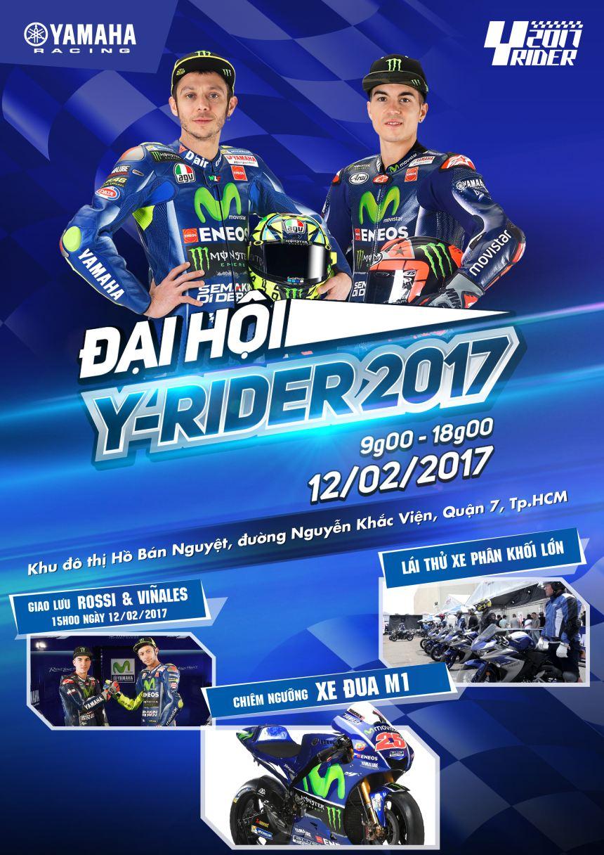 Đại hội Y-Rider 2017 - Sự kiện thể thao bậc nhất dành cho các tín đồ đam mê tốc độ