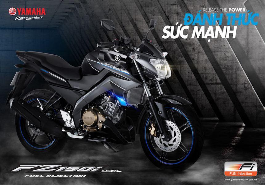 """Yamaha Motor Việt Nam Giới thiệu FZ150i phiên bản đen mới """"ĐÁNH THỨC SỨC MẠNH"""""""