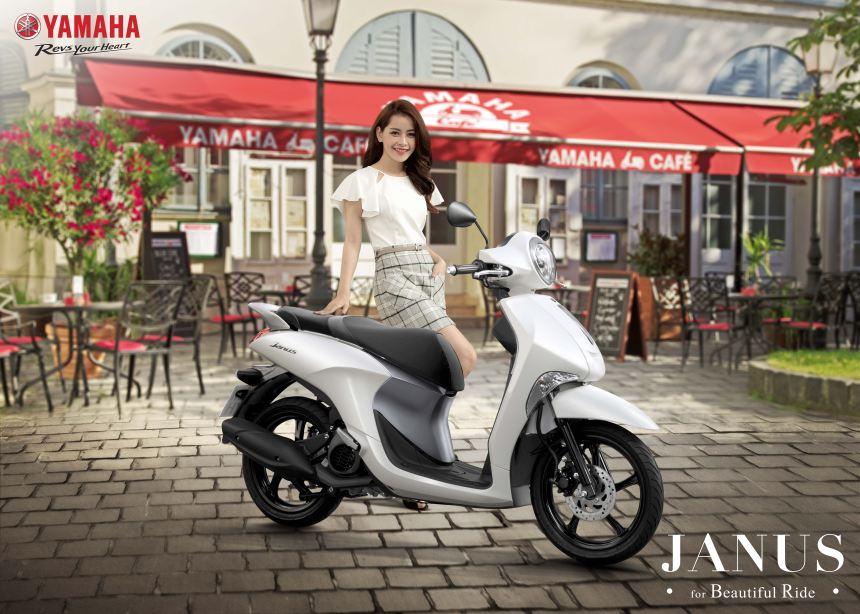 Yamaha Motor Việt Nam chính thức ra mắt sản phẩm xe ga mới - JANUS