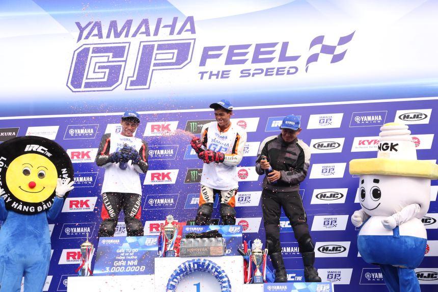 Những tay đua tài năng toả sáng tại Yamaha GP Racing 2016