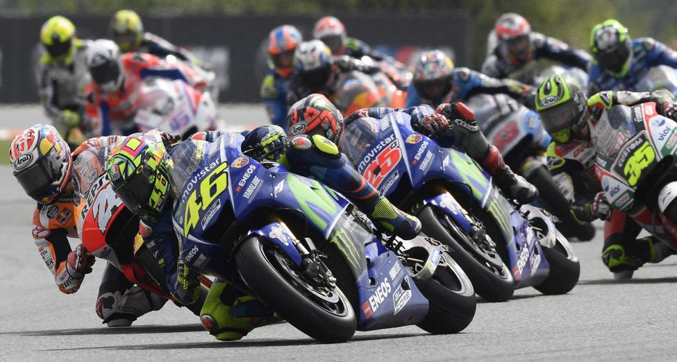 Kết quả vòng 10 MotoGP: Movistar Yamaha chốt vị trí thứ 3 và thứ 4 tại Czech