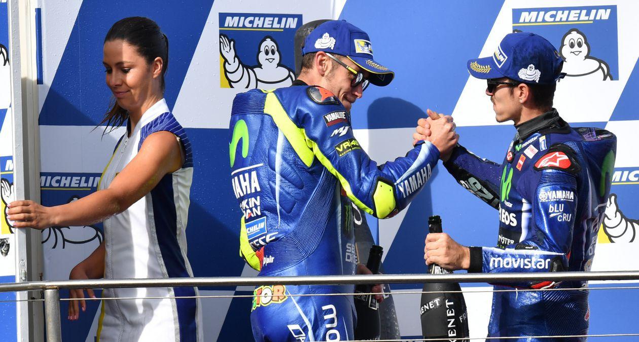 Kết quả vòng 16 MotoGP: Cú đúp ngoạn mục cho nhà Movistar Yamaha
