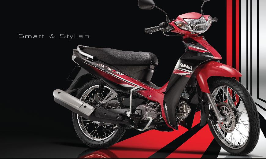Yamaha Sirius 2017: thay đổi tem xe, thêm màu mới, giá không đổi