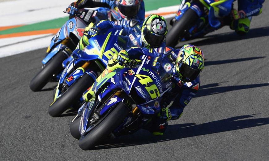 Chặng đua 18 MotoGP 2017: Movistar Yamaha kết thúc mạnh mẽ với vị trí thứ 5 và 12