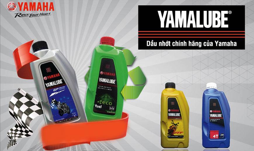Yamalube - Dầu nhớt xe máy chính hãng đồng hành cùng Yamaha