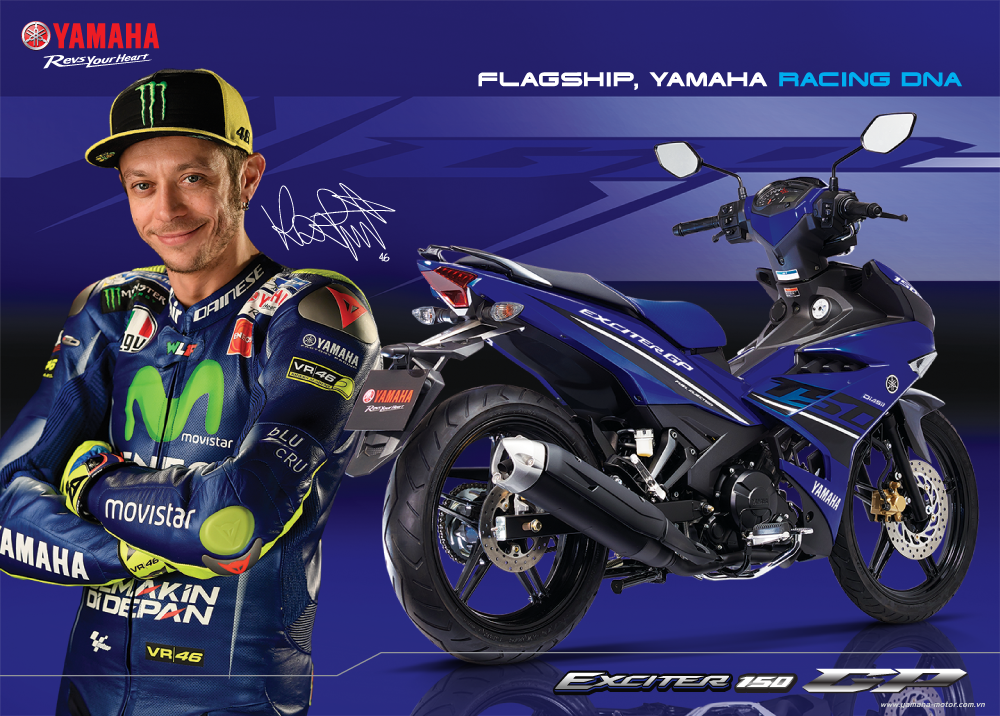 Poster Exciter GP 3