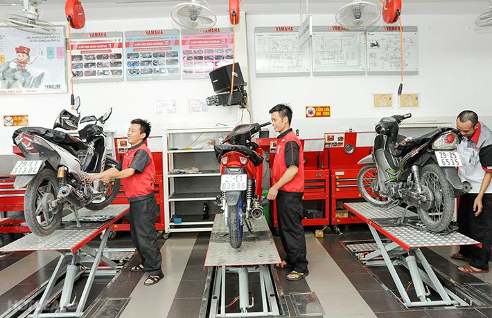 Bảo dưỡng xe máy gồm những gì?