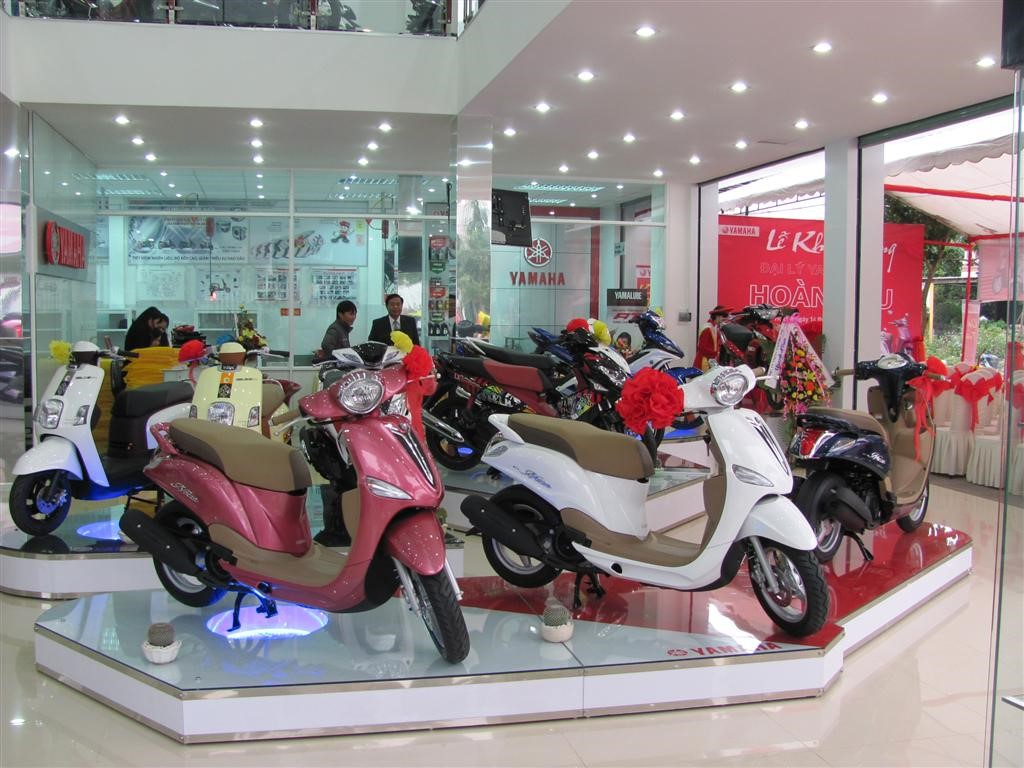 Hướng dẫn mua xe Yamaha trả góp
