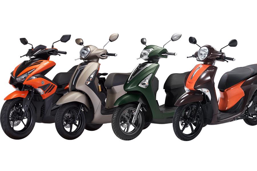 Bảng giá xe máy tay ga Yamaha mới nhất 2018