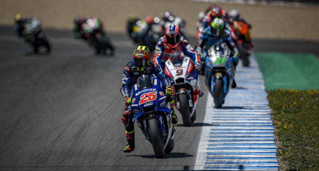 Kết quả vòng 4 MotoGP: Movistar Yamaha nắm giữ vị trí thứ 5 và thứ 7 sau đường đua Tây Ban Nha đầy kịch tính