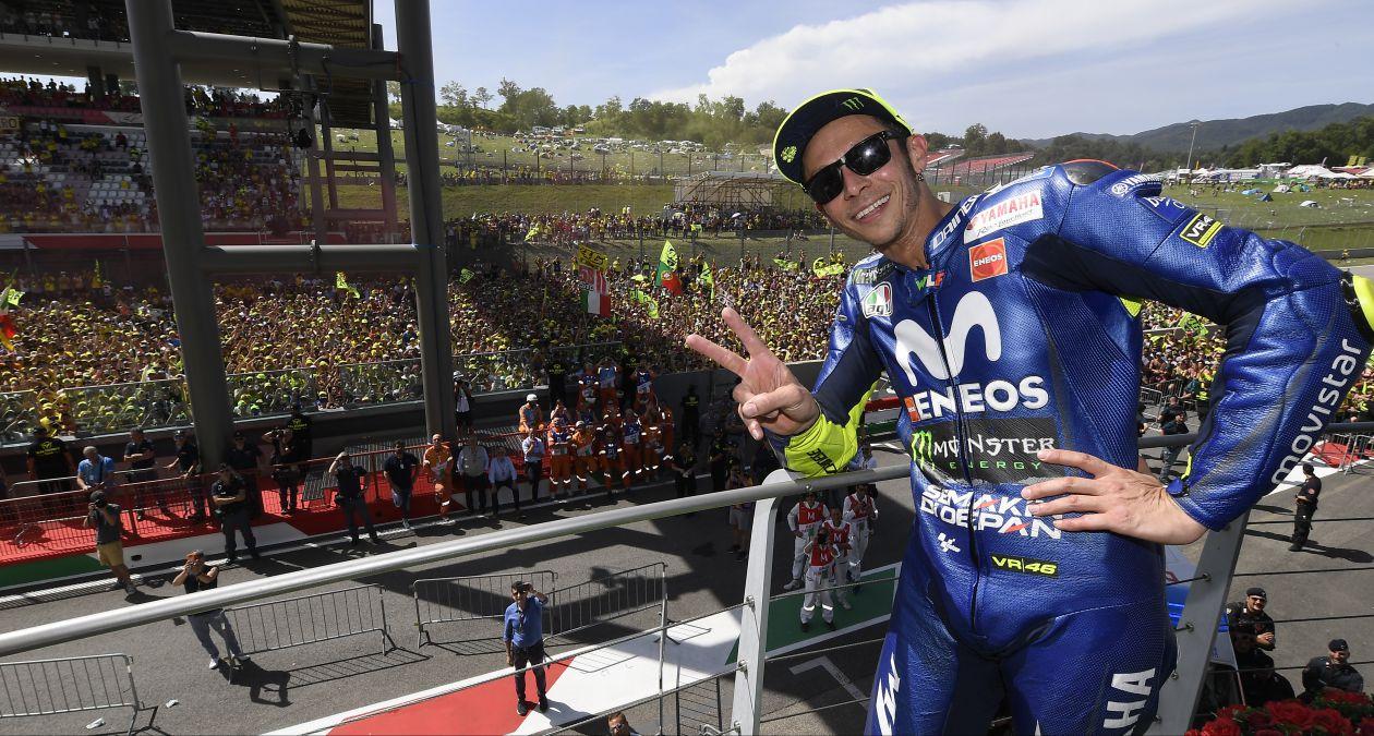 Kết quả vòng 6 MotoGP: Trở về quê nhà Mugello, Rossi xuất sắc lập kỷ lục mới