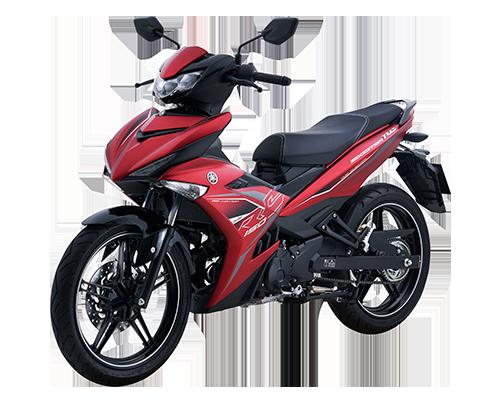 Xe Exciter 150 RC phiên bản mới màu Đỏ nhám