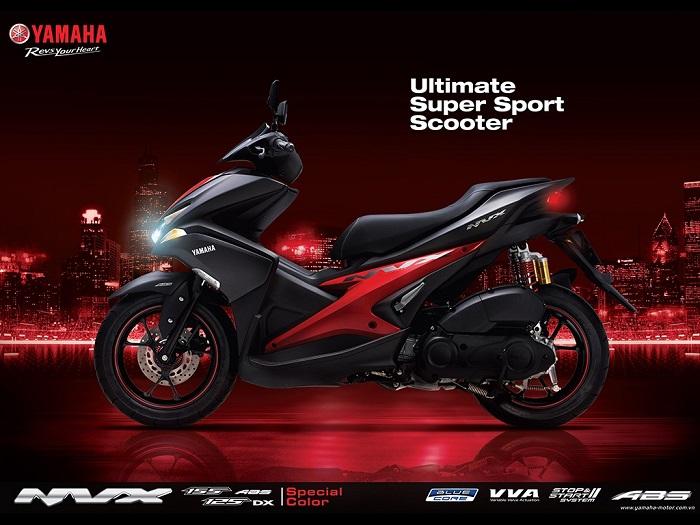 xe Yamaha NVX 2018 mới nhất