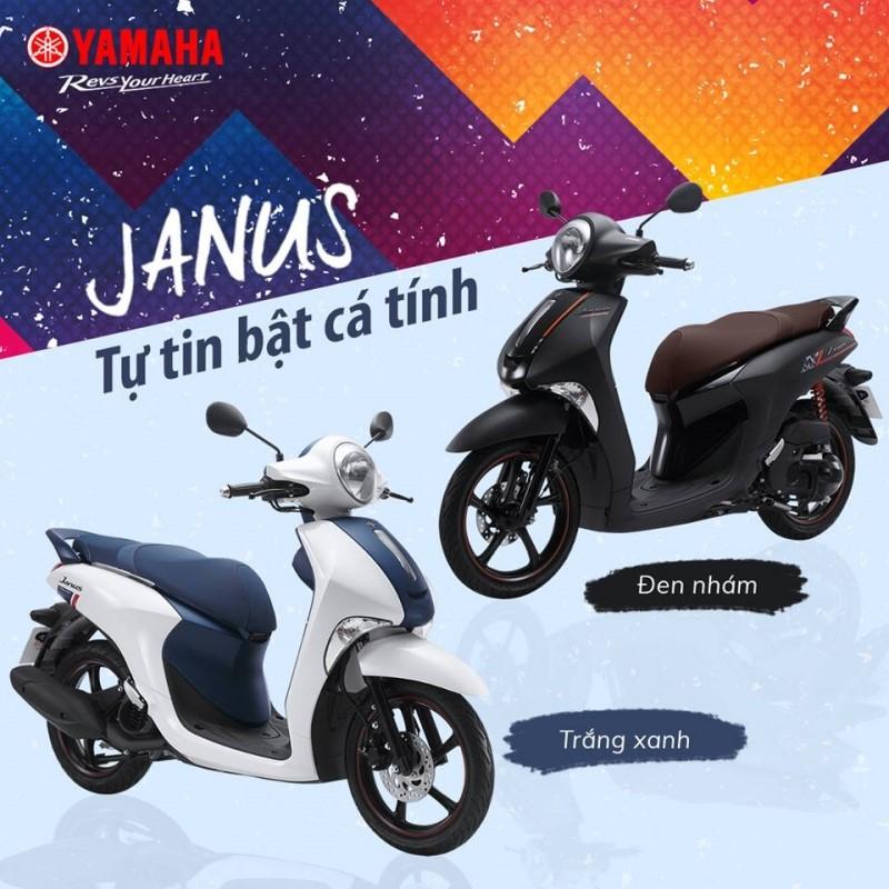Những mẫu xe tay ga 2018 có thiết kế đẹp của Yamaha