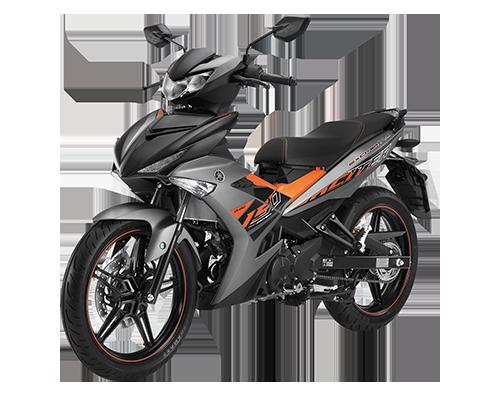 Xe Exciter 150 RC phiên bản mới màu Xám đen cam