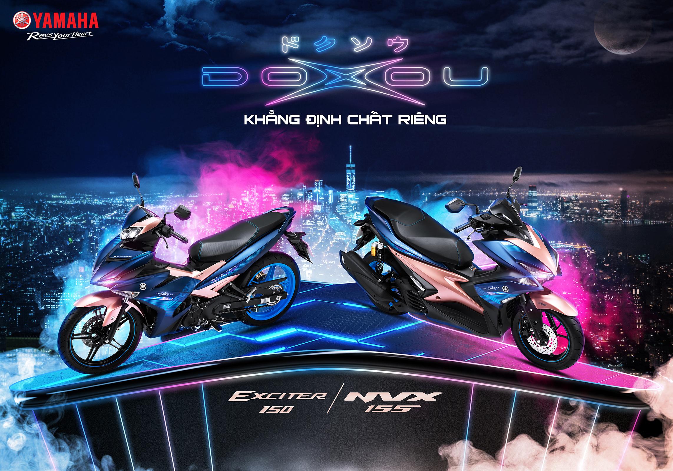 Khẳng định chất riêng cùng Yamaha Exciter & NVX phiên bản Doxou