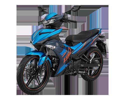 Xe Exciter 150 phiên bản Giới hạn màu Xanh - Đen - Cam