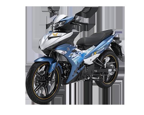 Xe Exciter 150 phiên bản Giới hạn màu Xanh