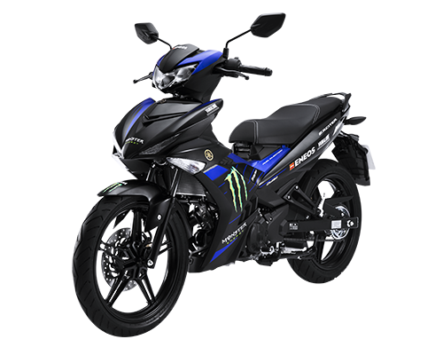 Xe Exciter 150 phiên bản Monster Energy Yamaha MotoGP màu Đen
