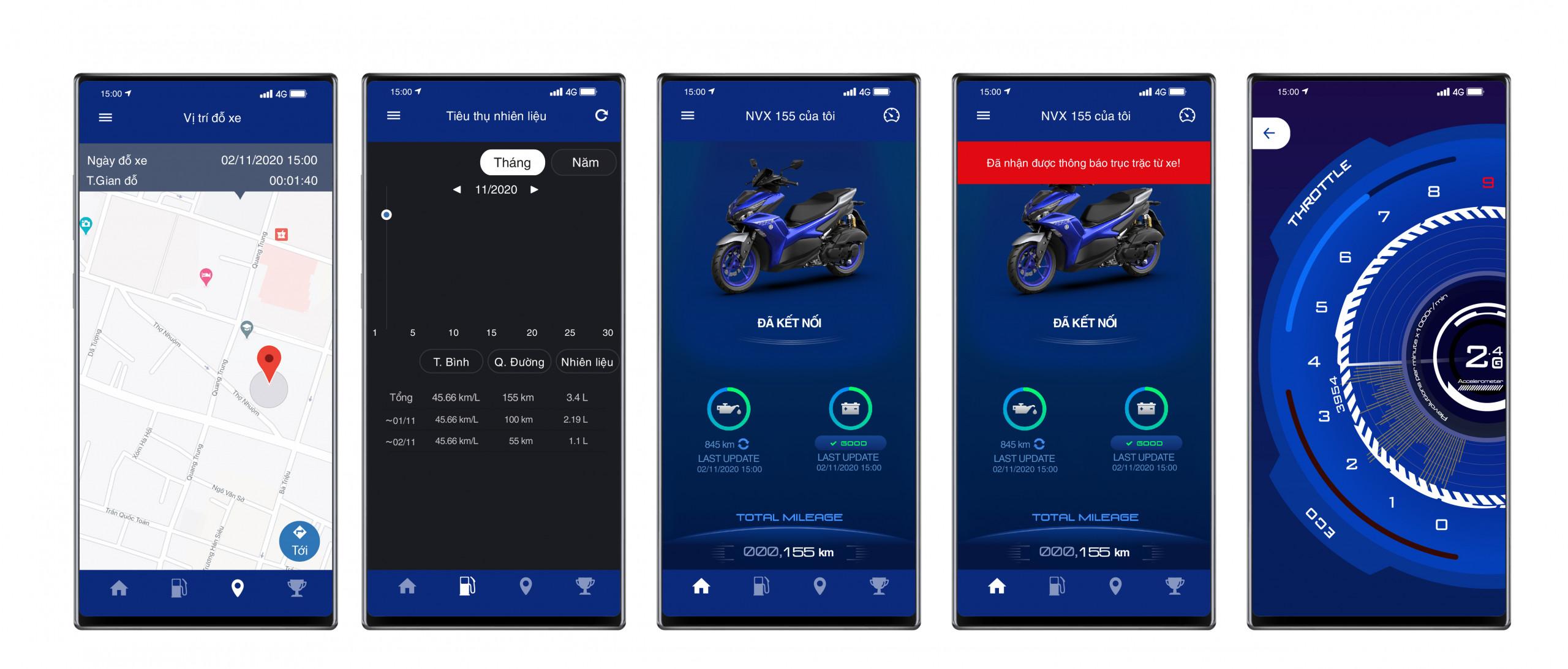 Ứng dụng Yamaha Y Connect