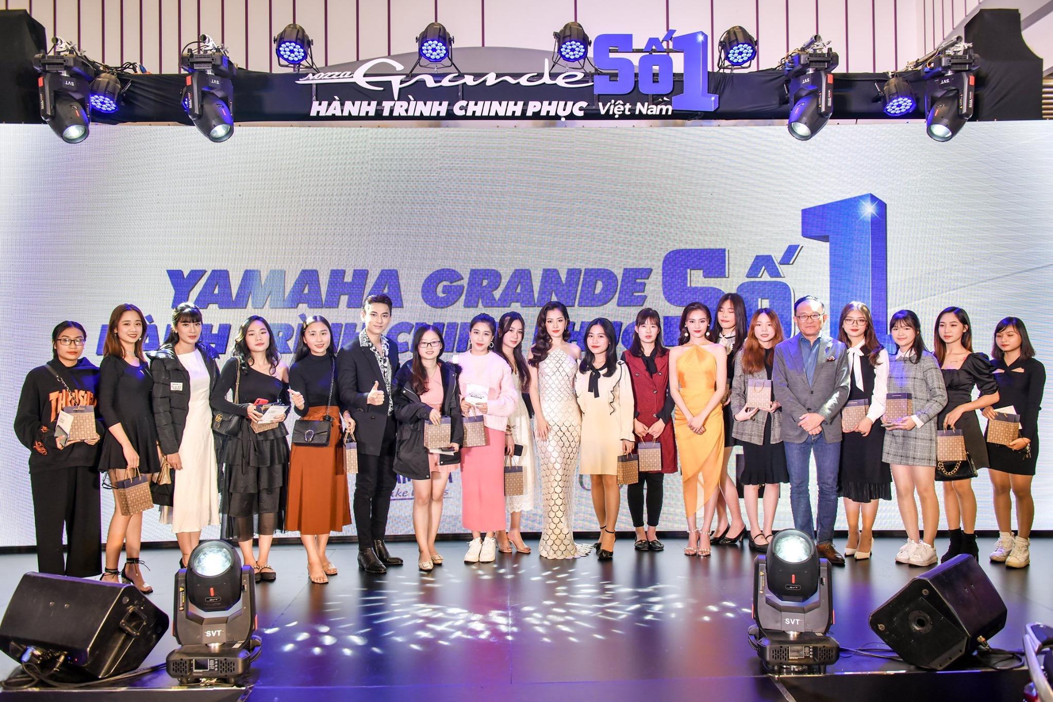 Chi Pu, Isaac, Ninh Dương Lan Ngọc khuấy động Yamaha Grande Fashion Show tại Hải Phòng